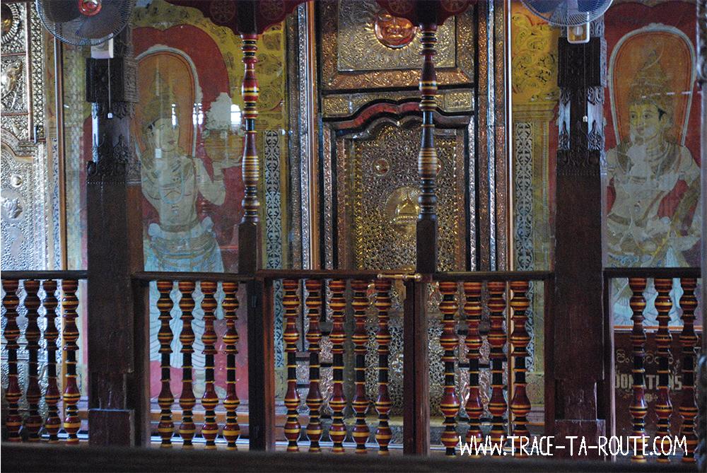 Kandy Temple de la Dent, Sri Lanka