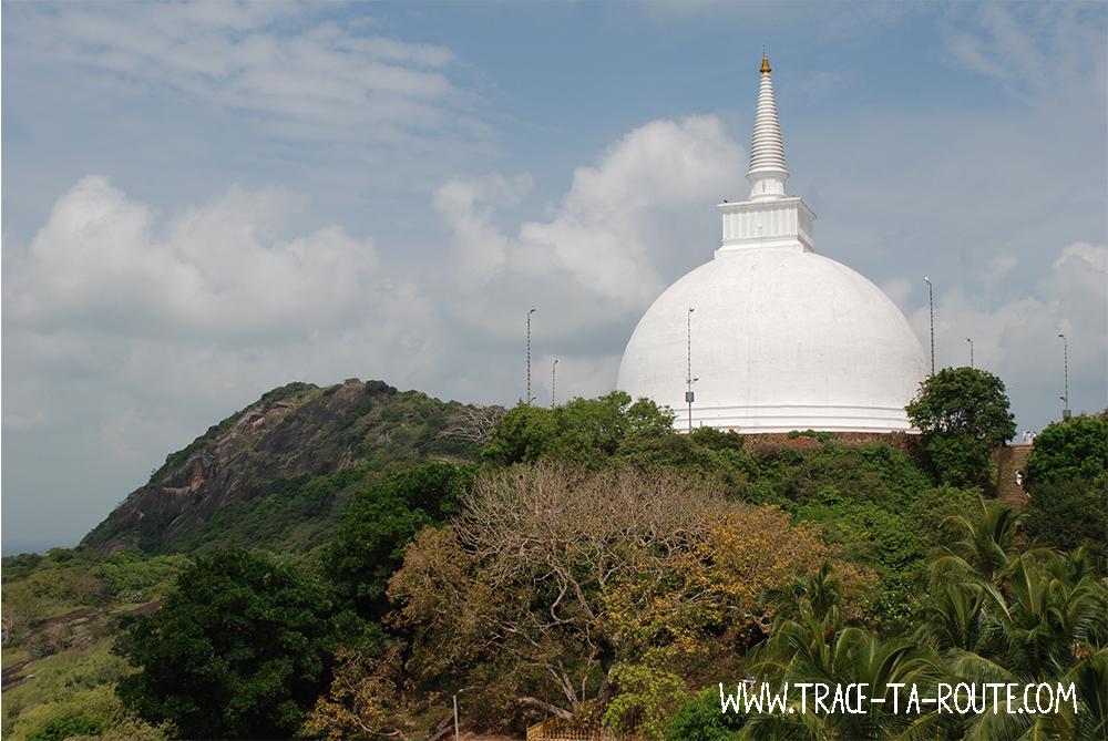 Stupa à Mihintale, Sri Lanka