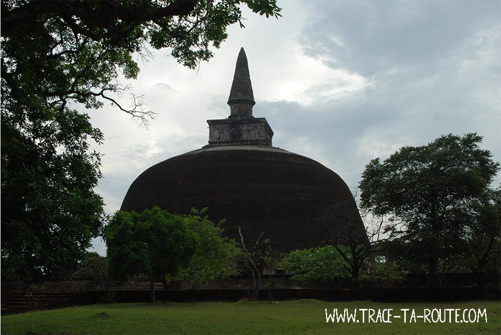 Dagoba de Polonnaruwa, Sri Lanka