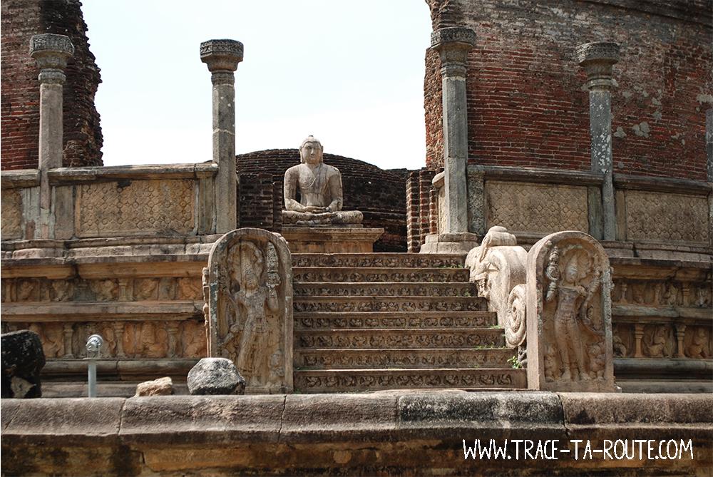 Ruines de Polonnaruwa, Sri Lanka