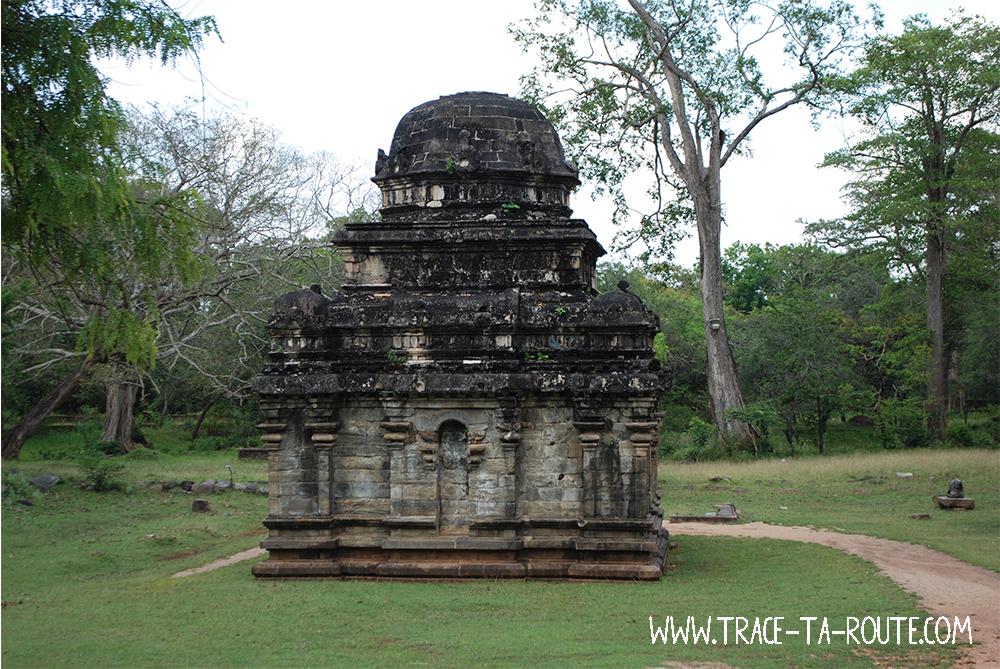 Temple Hindou à Polonnaruwa, Sri Lanka