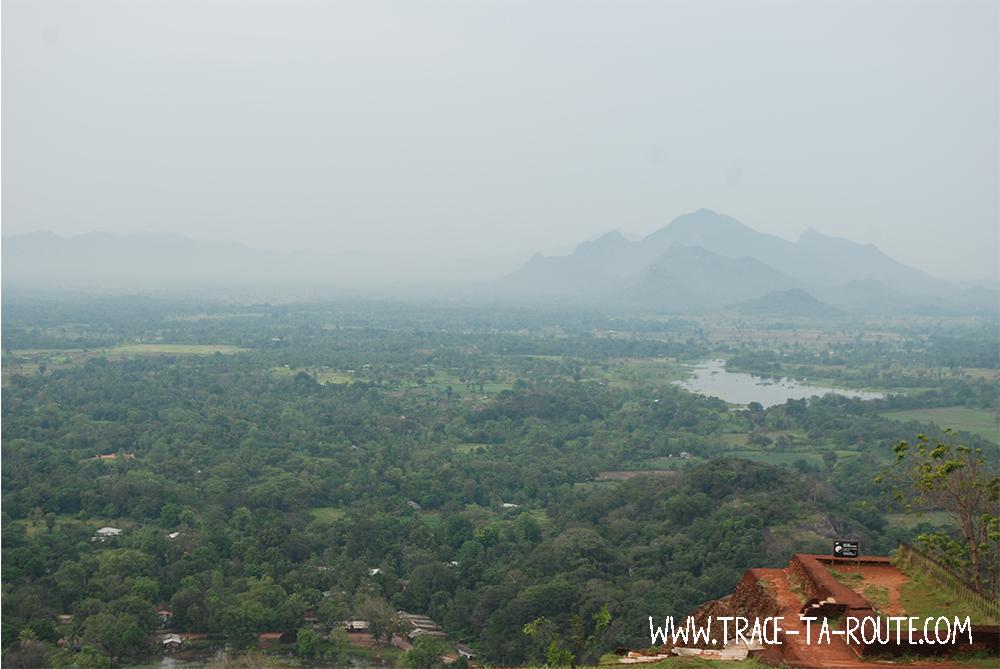 Panorama du Rocher au Lion, Sri Lanka
