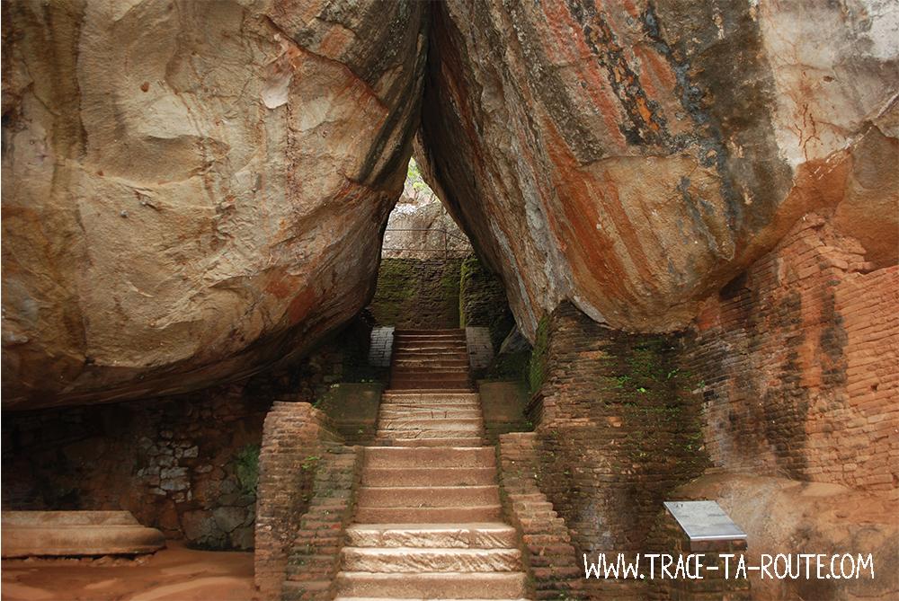 Chemin du Rocher au Lion, Sri Lanka