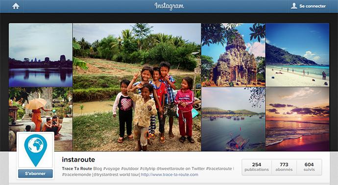Instaroute : Trace Ta Route sur Instagram