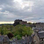 panarama sur le château d'Edimbourg