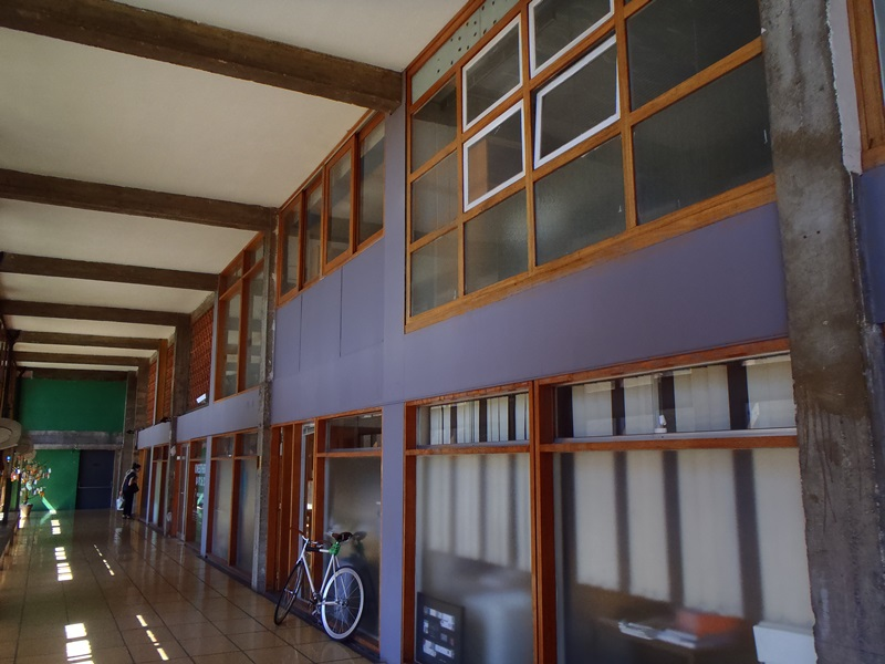 3e étage - Cité Radieuse - Le Corbusier