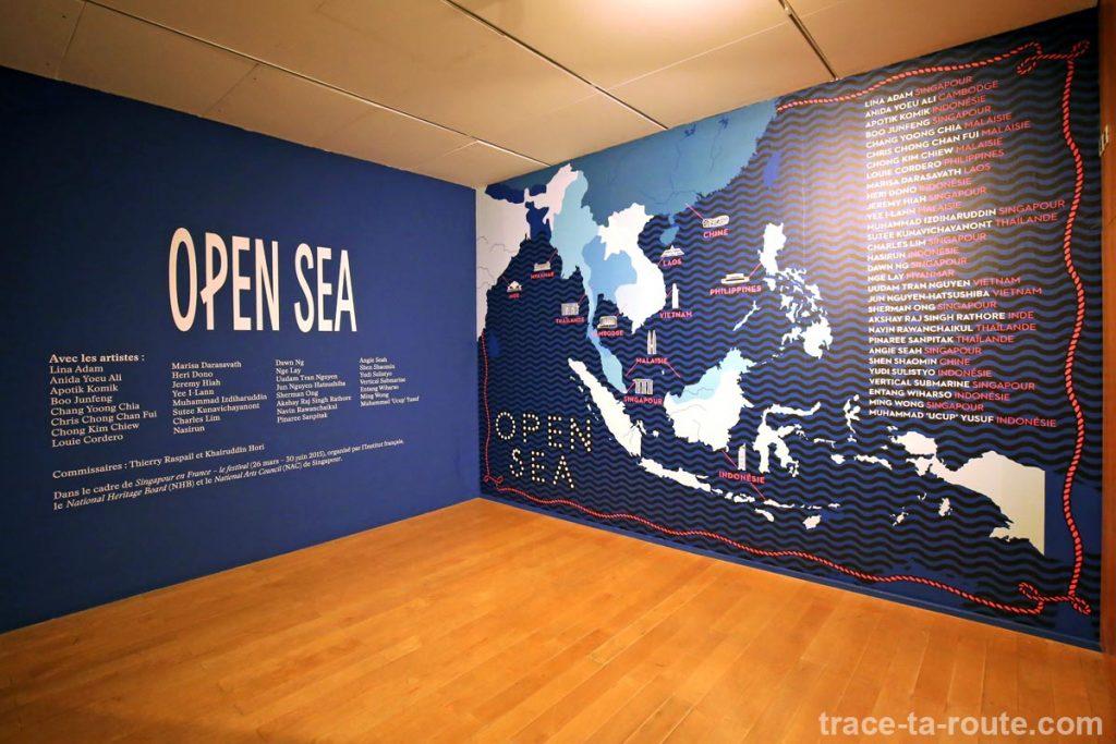 exposition open sea l 39 art contemporain d 39 asie du sud est au mac lyon blog voyage trace ta route. Black Bedroom Furniture Sets. Home Design Ideas
