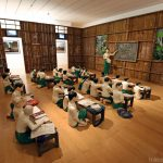 """The sick classroom"" (2013) Nge LAY - Exposition OPEN SEA au MAC Lyon"