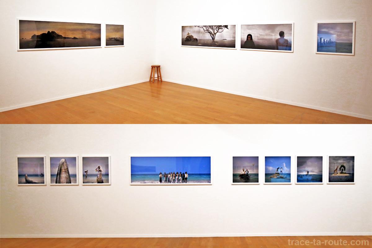 """Sulu stories"" (2005) Yee I-LANN - Exposition OPEN SEA au MAC Lyon"