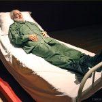 """Summit (Fidel Castro)"" (2010) Shen SHAOMIN - Exposition OPEN SEA au MAC Lyon"