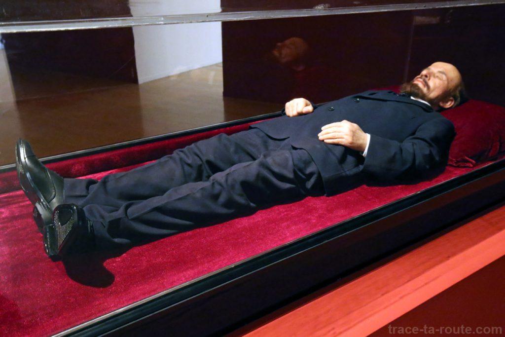 """Summit (Vladimir Lenine)"" (2010) Shen SHAOMIN - Exposition OPEN SEA au MAC Lyon"