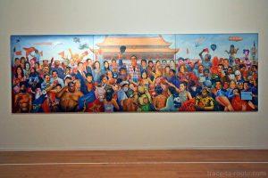 """""""Long live Navin !"""" (2007) Navin RAWANCHAIKUL - Exposition OPEN SEA au MAC Lyon"""