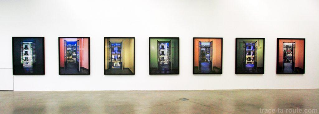 """Série """"Alger"""" (2013) Marie Bovo - Exposition """"La Danse de l'Ours"""" au FRAC PACA Marseille"""