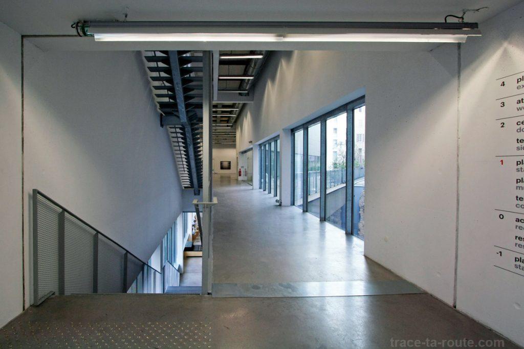 Le FRAC PACA Marseille : 1er étage