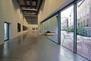 Le FRAC PACA Marseille : 1er étage et terrasse
