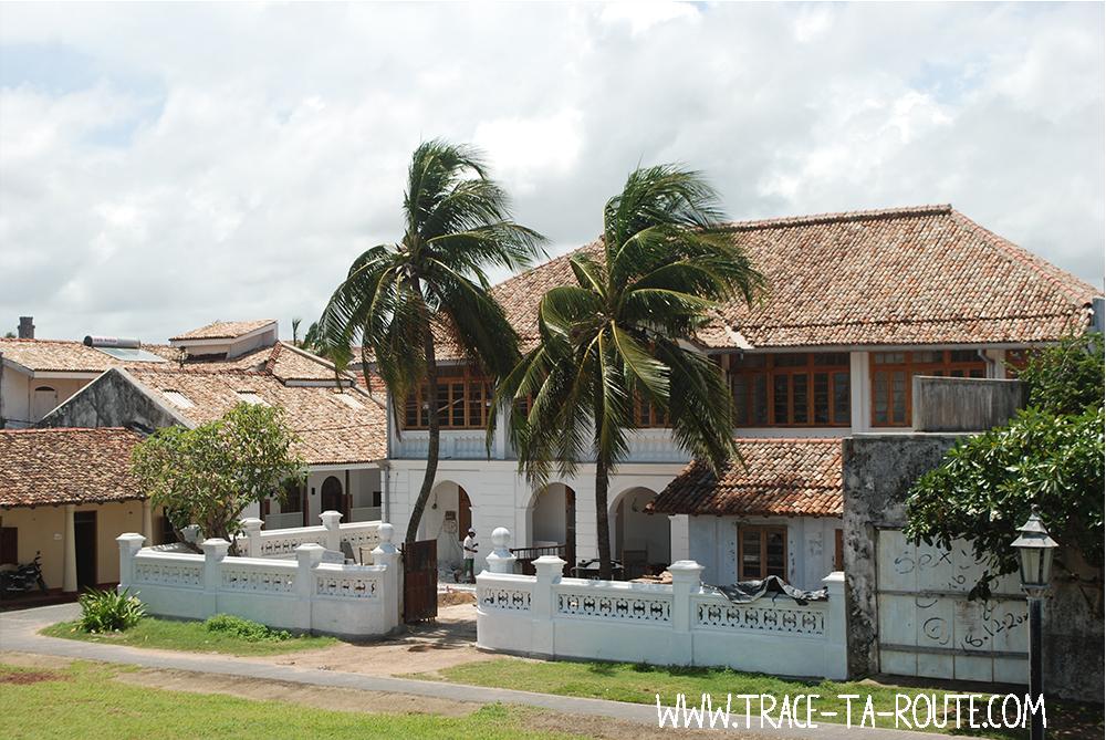 Casemate dans le Fort de Galle, Sri Lanka