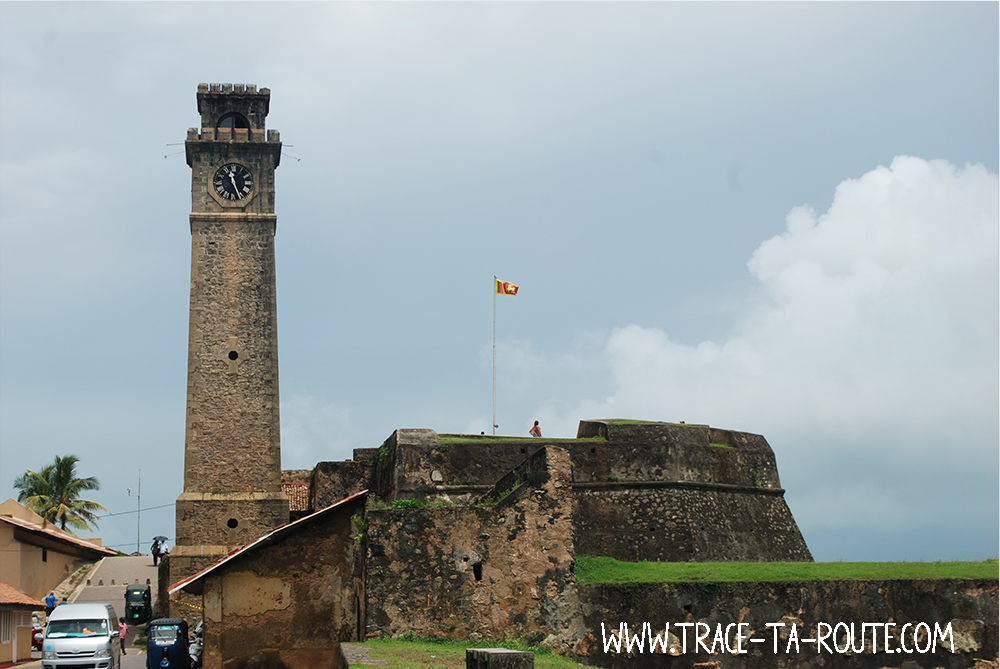 Entrée du Fort de Galle, Sri Lanka