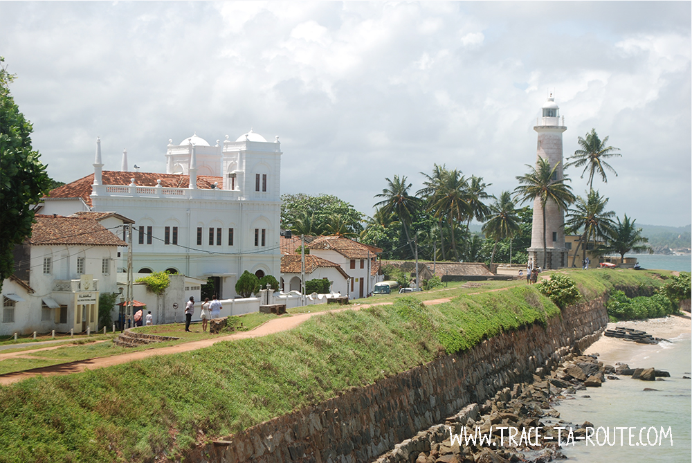 Mosquée et phare de Galle, Sri Lanka