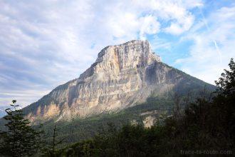 La falaise de la face Nord du Mont Granier