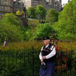 Joueur de Cornemuse a Edimbourg