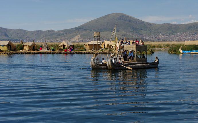 incontournables au Pérou, le lac Titicaca et ses iles