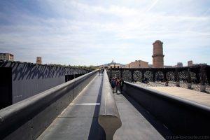 Rampe Passerelle vers le Fort Saint-Jean de Marseille et Terrasse du MuCEM J4