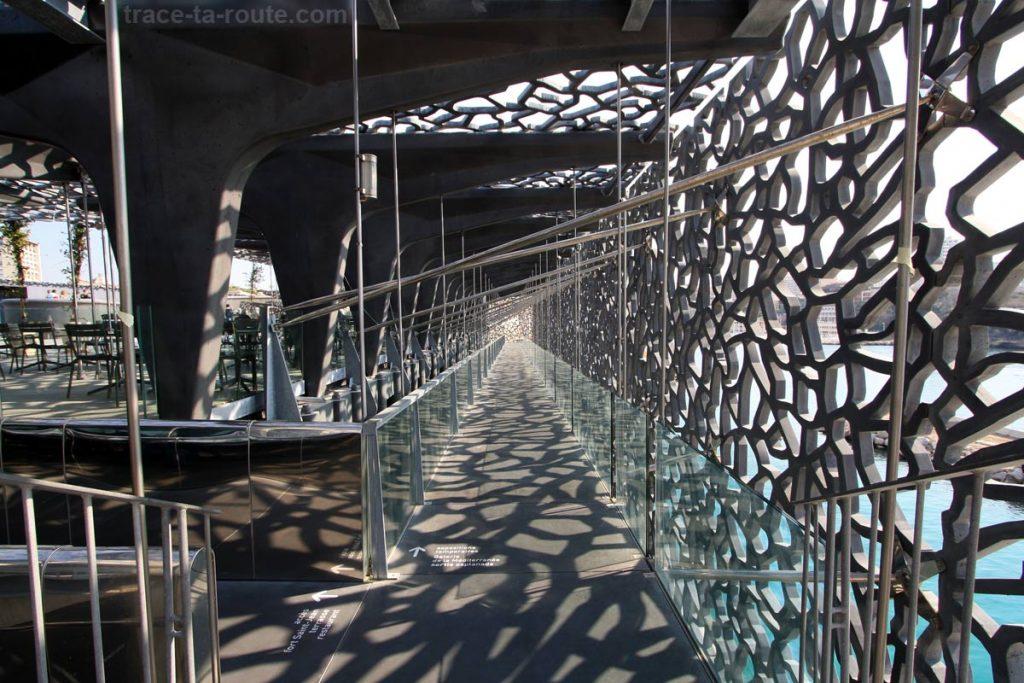 Coursive et Terrasse du MuCEM de Marseille