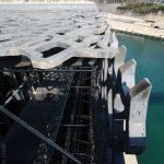 Architecture extérieure du MuCEM de Marseille