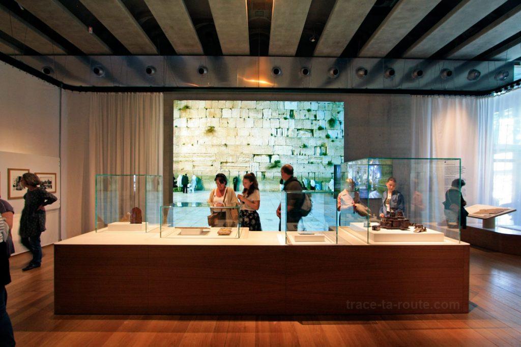 """Exposition permanente MuCEM (salle 2 de la Galerie de la Méditerranée : """"Jérusalem, ville trois fois sainte"""")"""