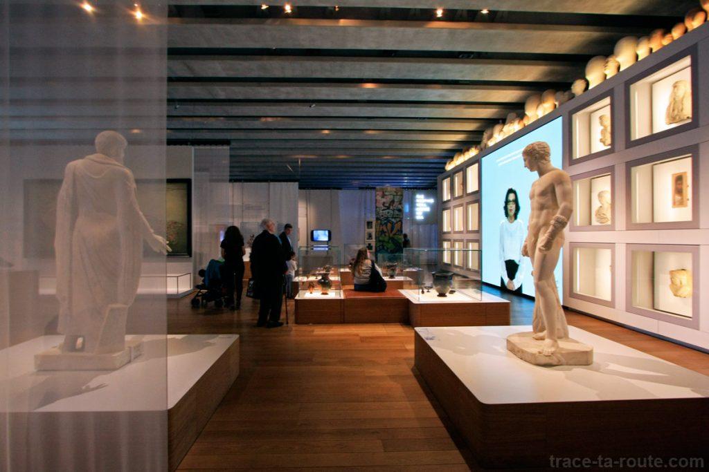 """Le banquet (MuCEM, Galerie de la Méditerranée, salle 3 : """"Citoyenneté et Droits de l'Homme"""")"""