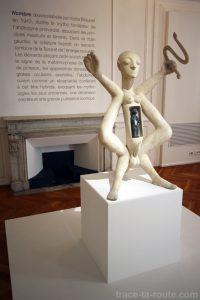 """""""Nombre"""" (1943) Victor Brauner - Musée Cantini de Marseille"""