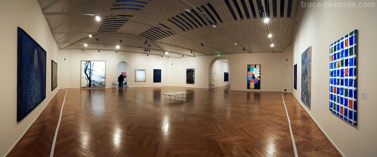 Salle abstraction au rez-de-chaussée du Musée Cantini de Marseille
