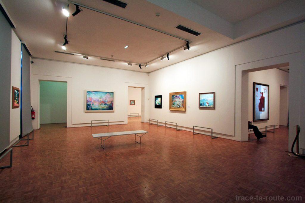Salle Post-Impressionnisme au 1er étage du Musée Cantini de Marseille