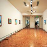 Salle Fauvisme au 1er étage du Musée Cantini de Marseille