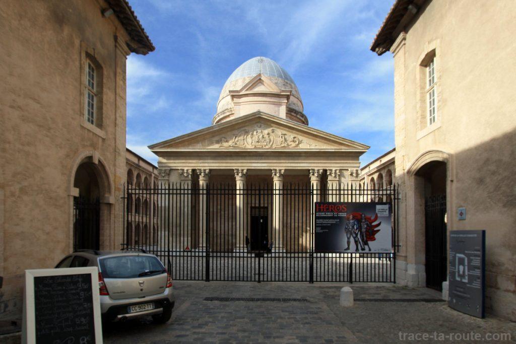 Entrée de la Vieille Charité de Marseille