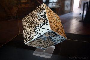 """Mappamondo"" (2008) Emilio Isgro - Exposition ""Alpha Beta Carta"", au Centre International de Poésie de Marseille (cipM)"