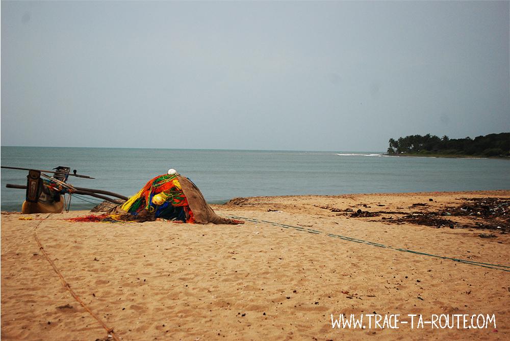 Bateau à Arugam Bay, Sri Lanka