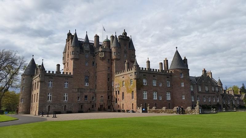circuit en Ecosse : château de Glamis, le château le plus hanté du monde