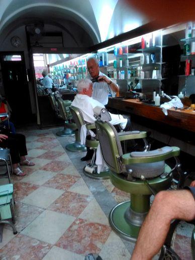 coiffeur traditionnel de Lisbonne