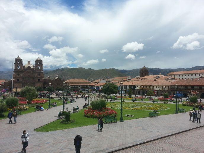 incontournables au Pérou, Cusco et sa plaza de armas