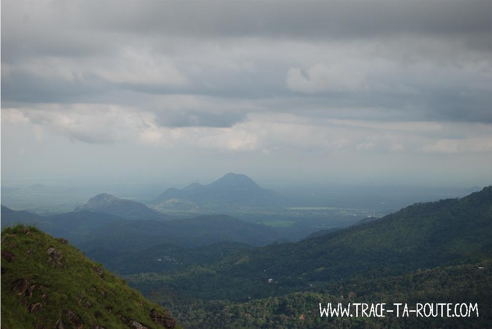 Nuages à Ella, Sri Lanka