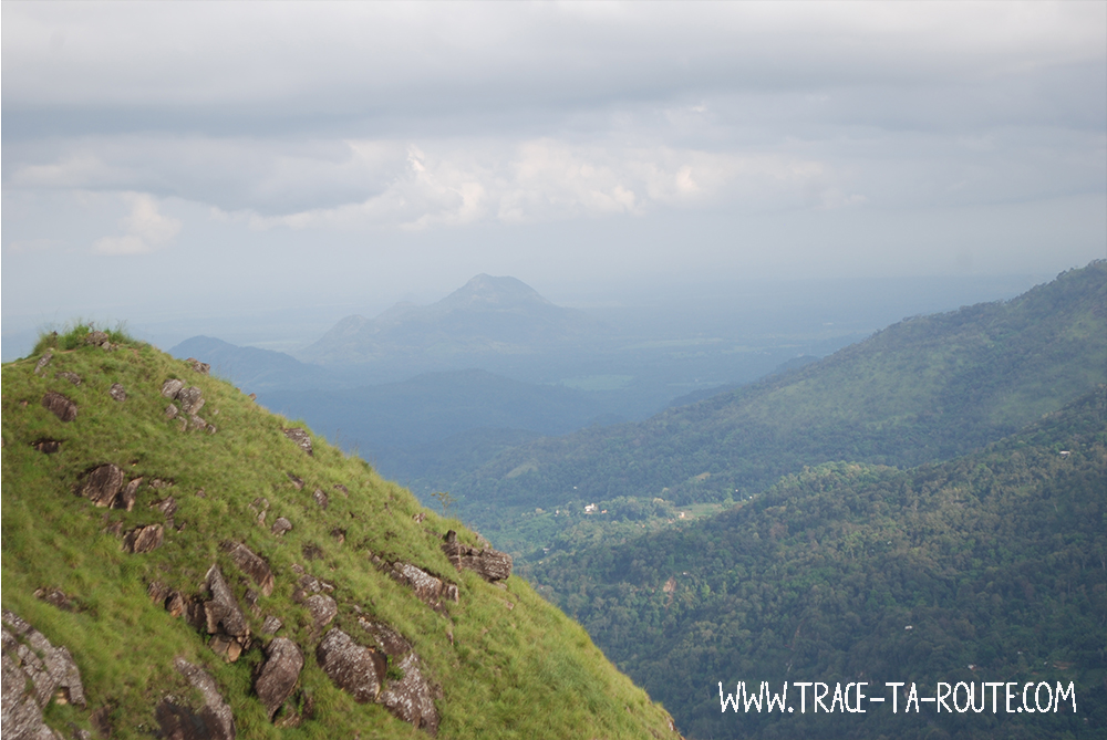 Panorama Little Adam's Peak, Sri Lanka