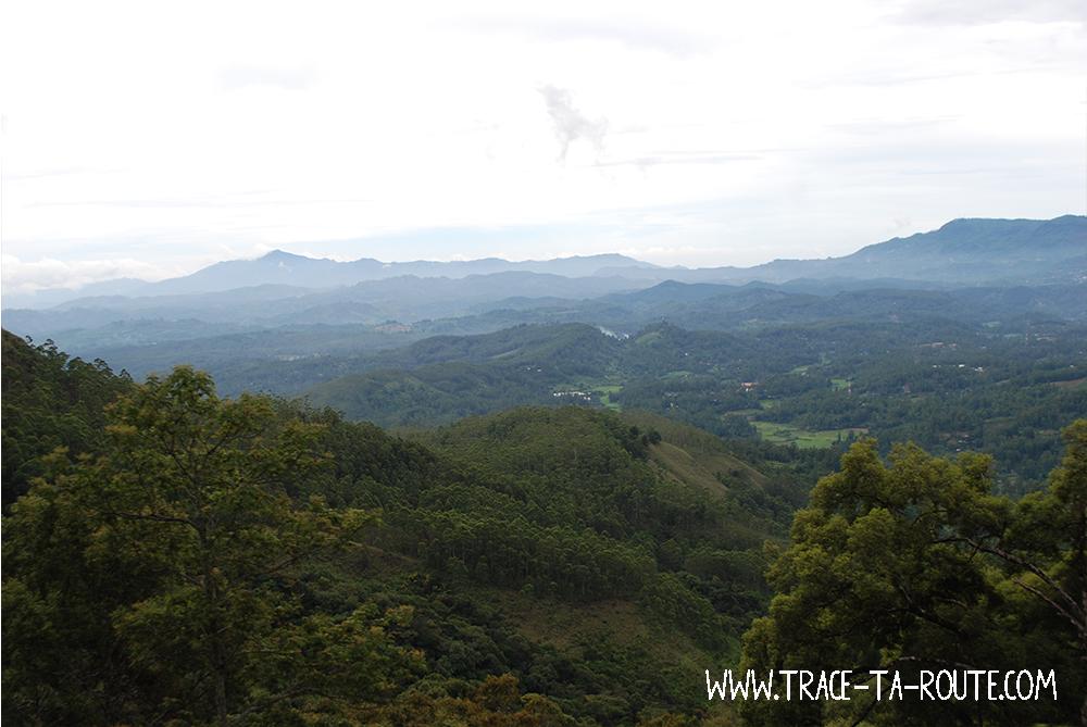 Panorama à Ohiya, Sri Lanka