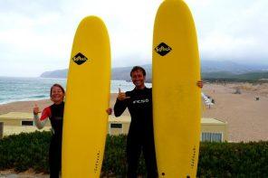 surfer à guincho près de lisbonne