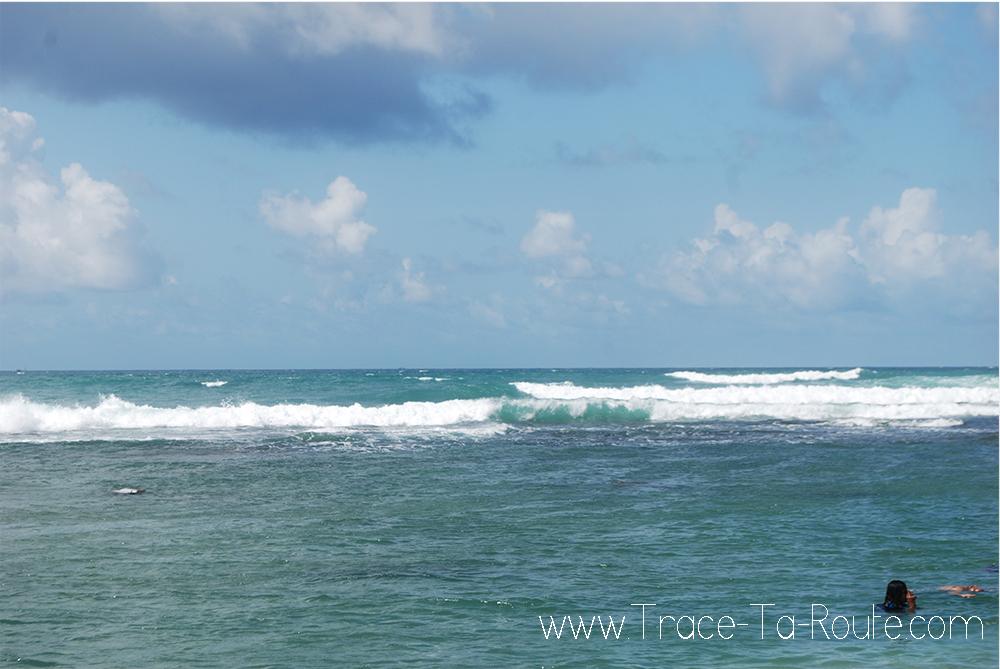 Tangalle plage et mer, Sri Lanka