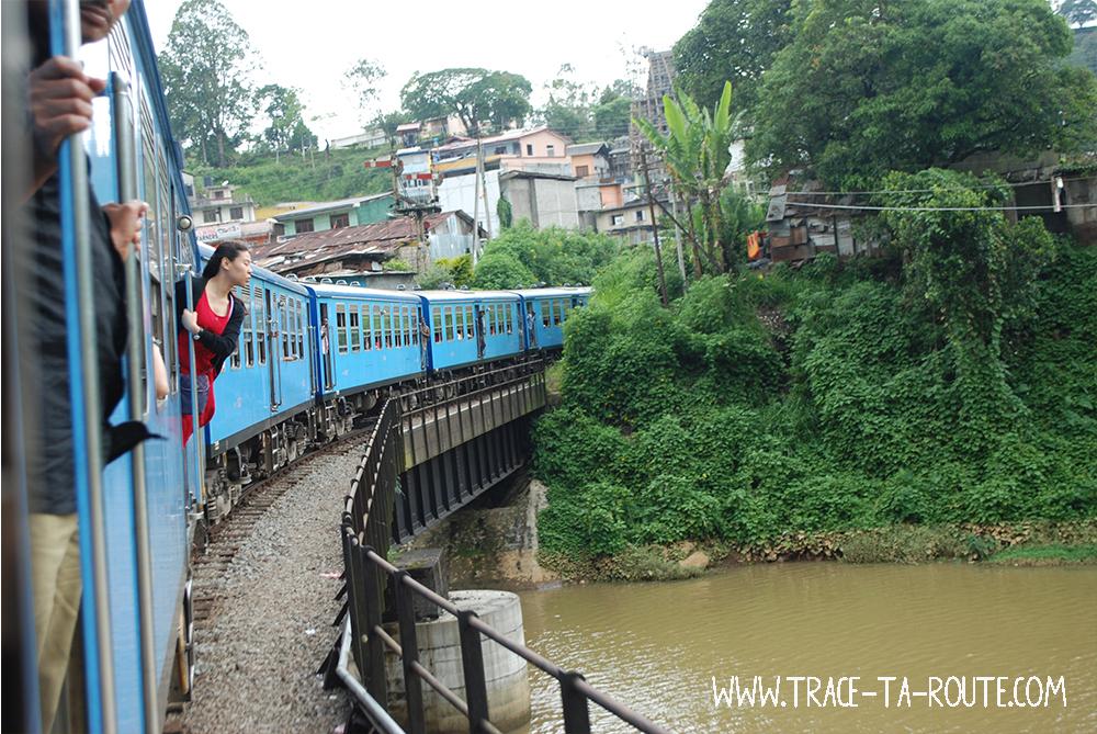 Pont entre Kandy et Ohiya, Sri Lanka