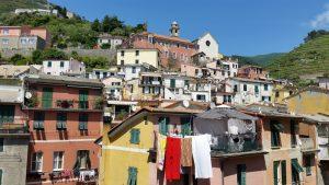 le village de Vernazza dans les Cinque Terre (ou 5 Terre) en Italie
