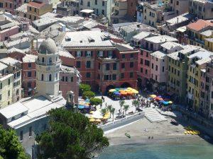 Cinq Terre - village de Vernazza