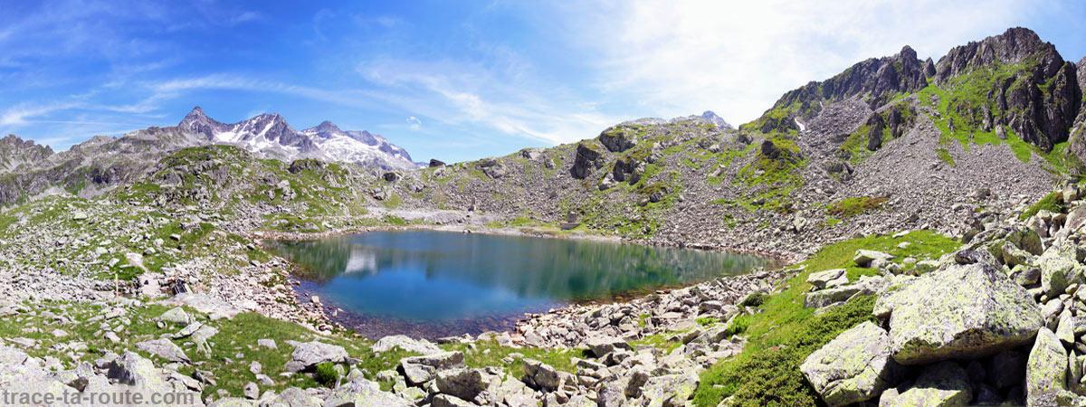 Le Lac Noir - Les Lacs des 7 Laux (Belledonne)
