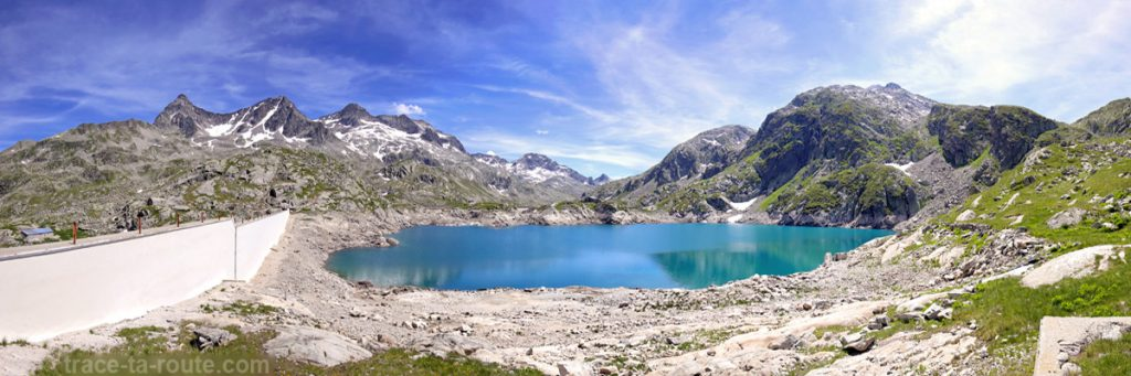 Le Lac Carré - Les Lacs des 7 Laux (Belledonne)